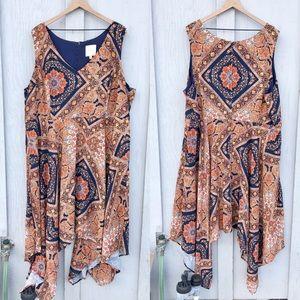 Modcloth tapestry print dress